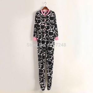 No Boundaries Cow Footed Pajamas